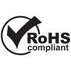 Logo ROHS Compliant Black